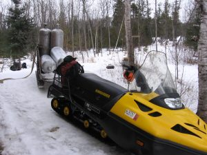 Hauling propane for this coming summer