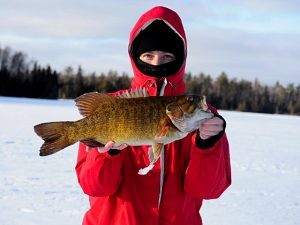 WINTER BASS FROM TRIANGLE LAKE
